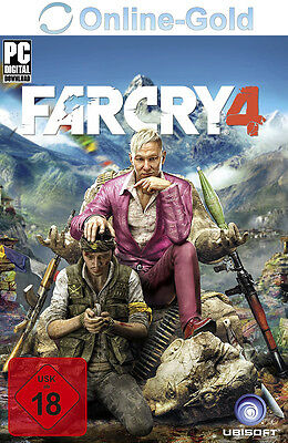 Far Cry 4 Standard Edition Key mit Ubisoft Download Manager [PC][DE][Uplay Code]
