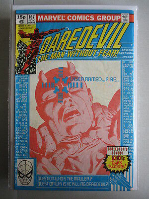Daredevil Vol. 1 (1964-2011) #167 FN+ UK Price Variant