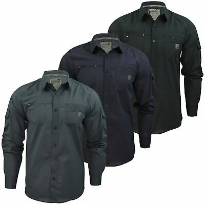 Mens Shirt by Dissident 'Lazer' Long Sleeved