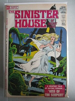 Sinister House of Secret Love (1971-1972) #4 VF+