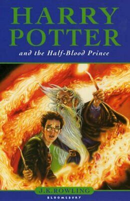 Harry Potter and the Half-blood Prince, Rowling, J. K. Hardback Book The Cheap
