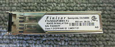 FINISAR FTLF8524P2BNV-FJ Fibre Optic 4Gb/s 850nm SFP Transceiver Module GBIC