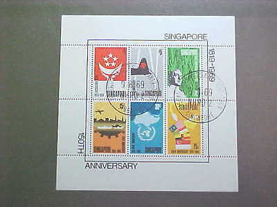 SINGAPORE  106a used vf and nice...