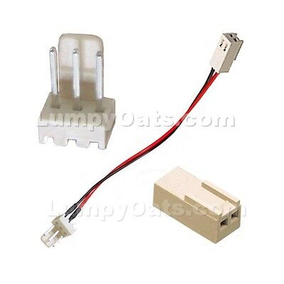 3-Pin to 2-Pin Fan Adapter Cable NEW