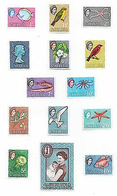 St.Helena stamps 1961 SG 176-189  MLH  VF