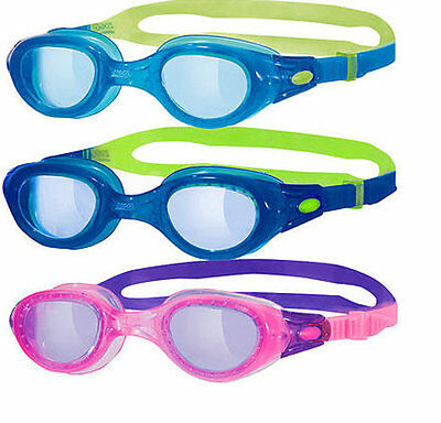 103329 SPORTS DEAL Zoggs Phantom Kids Swimming Goggles - Age 6 -14yrs