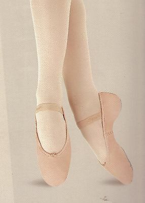 NWT CAPEZIO Daisy #205 Ladies Sizes BPink Full Sole attached elas Ballet shoes