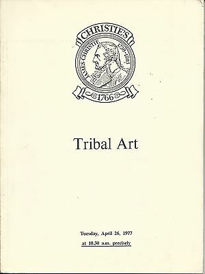 CHRISTIE'S AFRICAN OCEANIC AMERICAN INDIAN HAIDA PRE COLUMBIAN ART Catalog 1977