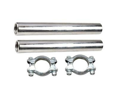 Exhaust chrome tail pipes with fitting clamps VW Beetle 1956-1979
