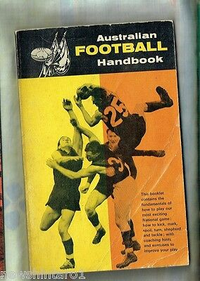 #T40.  1960s  SKILLS  BOOK  - HOW TO PLAY AUSTRALIAN RULES FOOTBALL