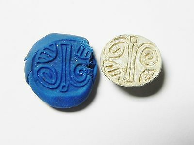 ZURQIEH - ANCIENT EGYPT - 2nd Intermediate Period, 1786- 1567 BC. STONE SCARAB • CAD $151.20