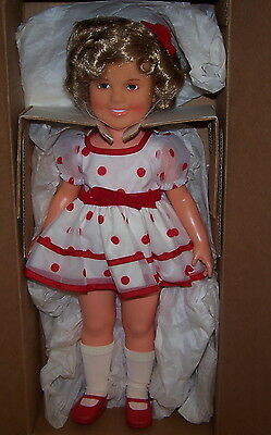 "Shirley Temple 16"" Doll Montgomery Ward in Original Box Vintage 1972"