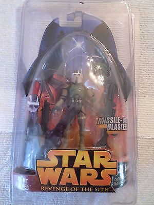 Star Wars 2005 Revenge of the Sith Hasbro Action Figure #54 AT-RT Driver MOC