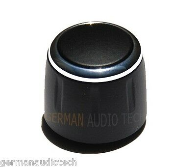 2x NEW BUTTONS for BMW PROFESSIONAL CD RADIO VOLUME KNOB CD73 E90 328 330 335 M3
