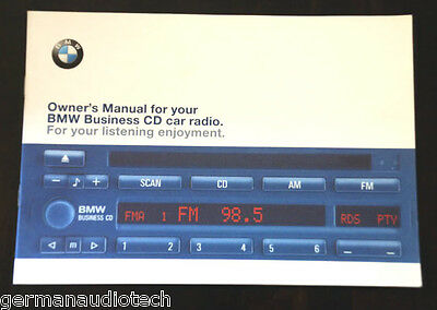 BMW BUSINESS CD Player Radio Stereo Blaupunkt Cd43 - Owner\'s Manual ...