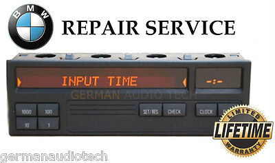 Bmw E36 8 Button On Board Computer Display Obc Mid - Pixel Repair Service Fix