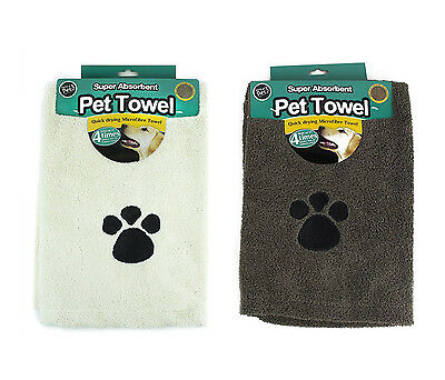 World of Pets Super Absorbent and Quick Dry Microfibre Pet Towel 100X65CM