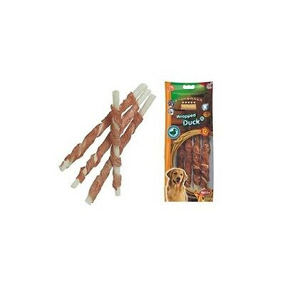 Snack chien Canard stick enrobe XL 25cm/O20mm - Friandise delicieuse et saine.