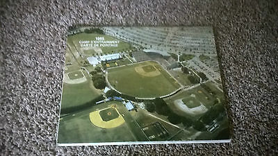 Montreal Expos 1985 Spring Training Scorecard w/Autographs! Larry Bearnarth +++