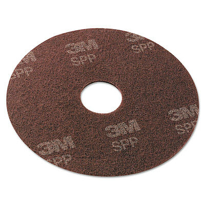 """3M Surface Preparation Pad, 18"""", Maroon, 10/carton"""