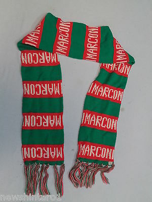 #xx. Marconi  Soccer Football Club Supporter  Scarf & Beanie