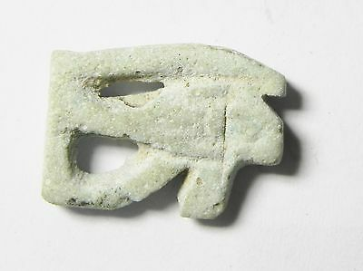 Zurqieh -Mk2226- Ancient Egypt - Beautiful Eye Of Horus Amulet, 1075 - 600 B.c