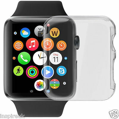 Apple Watch iWatch Premium Full 3D Screen Cover Protector Clear 100% 38mm