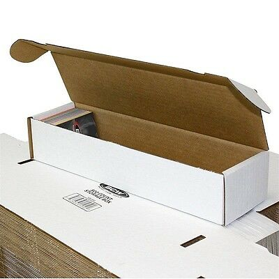 100 BCW 800 Card Storage Boxes - Gaming Trading Sports Box Baseball - MTG