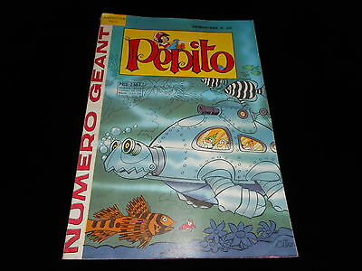 Pepito Géant 28 Editions Sagédition 4ème trimestre 1968