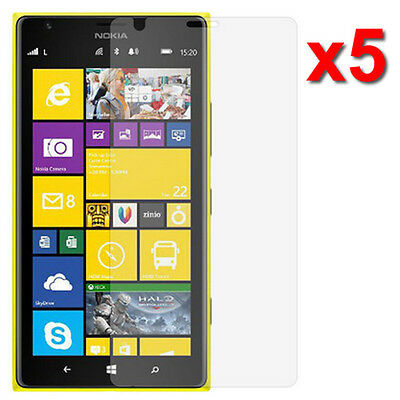 5X Crystal Clear LCD Screen Protector Flim For Nokia Lumia 1520 Phone Accessory