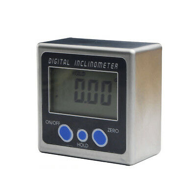 Digital Inclinometer Mini Box Angle Gauge protractor Level 360° Magnetic Base
