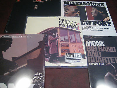 Thelonious Monk Alone In San Francisco 45 Rpm 2Lp's + 4 Live Concerts No Barcode
