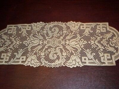 Lace Gold Table Runner 36 X 14 Abstract Design Accent Home Decor Ttra585