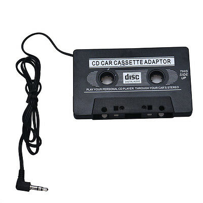 Car Audio Tape Cassette Adapter For iphone MP3 CD Radio Nano 3.5mm Jack AUX