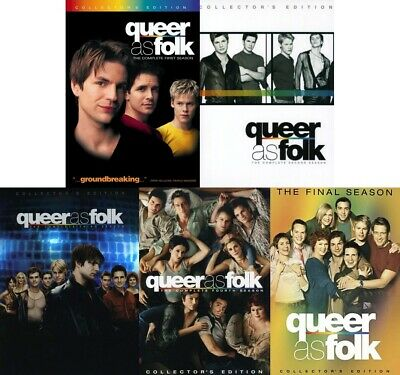 Queer as Folk Complete TV Series Season 1-5 (1 2 3 4 5) NEW DVD BUNDLE SET