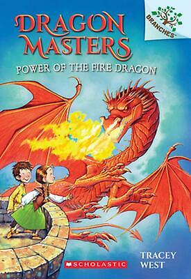 Dragon Masters Power of the Fire Dragon by Tracey West (English) Paperback Book
