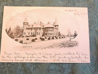 1905-10 Rutherford New Jersey NJ Post Card