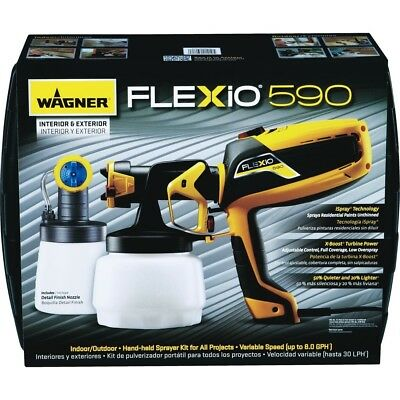 Wagner Flexio 590 Variable Speed Hand-held Airless Paint Sprayer  0529010
