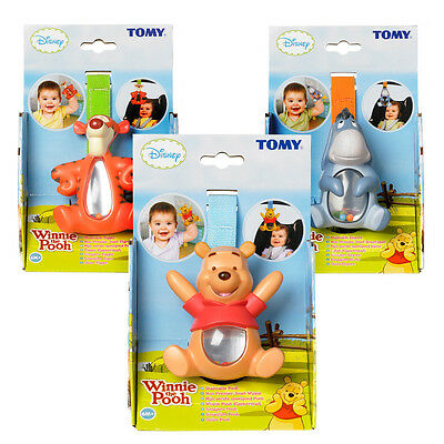 Winnie The Pooh Tomy Shakeable Rattle Baby Tomy Toy