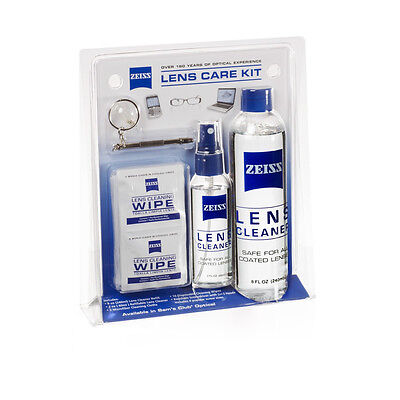 ZEISS Lens Care Kit Cleaning Cloth Spray & Screwdriver for Glasses & PC Screens
