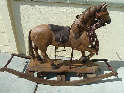 Antique rocking horse           ( make me an offer) SAN MATEO CALIFORNIA