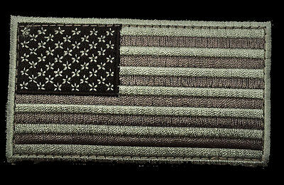 USA AMERICAN FLAG TACTICAL US ARMY MORALE MILITARY ACU 3.5 inch HOOK PATCH (MF7)