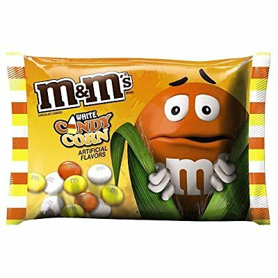 M&M's WHITE CHOCOLATE CANDY CORN Limited Seasonal 8oz BB6/2017 M&Ms halloween