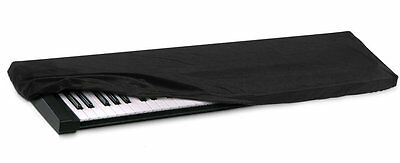 HQRP Black 88-Key Keyboard Piano Dust Cover w/ Bag for Studio Home Keyboards
