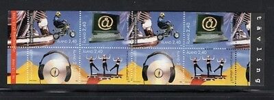 Aland Island 1998 Youth Activities Stamp Booklet SG SB6  UM