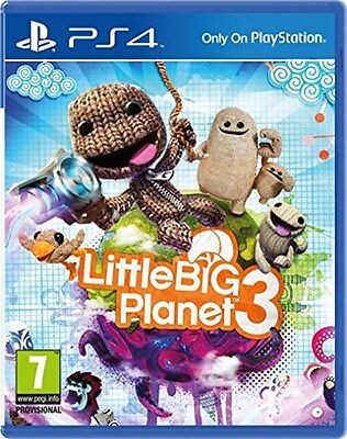 LittleBigPlanet 3 (PS4) [New Game]