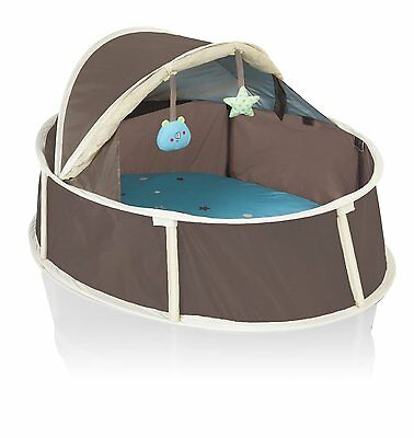 Babymoov Little Babyni Taupe/Blue - Play Tent