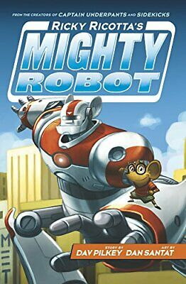 Ricky Ricotta's Mighty Robot by Pilkey, Dav Book The Cheap Fast Free Post