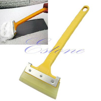 Simple Car Auto Window Scraper Wrapping Film Tinting Squeegee Cleaning Snow Tool