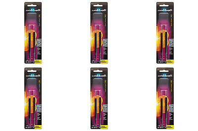 uni-ball Gel uni-ball Impact RT Pen Refills Bold Point Black Ink 2 Packs of 6